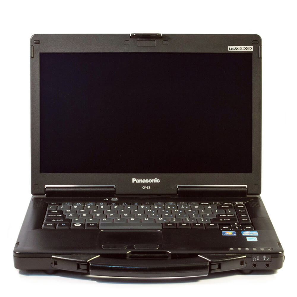 PANASONIC TOUGHBOOK CF-53 I5-4310U 2.0 / 8192MB DDR3L / 500 GB / DVD-RW / WINDOWS 10 PROFESSIONAL / 14