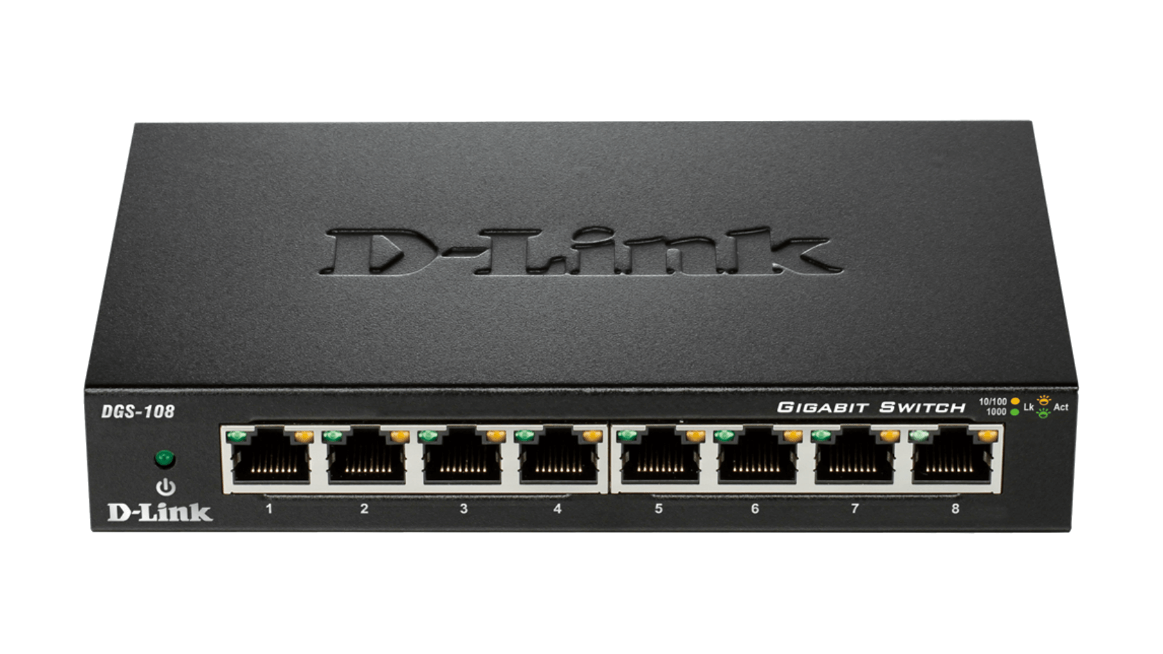 SWITCH D-LINK DGS-108 8 PORT NOWY