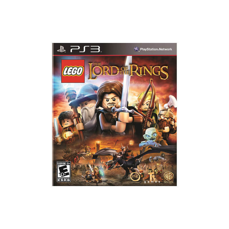 GRA LEGO THE LORD OF THE RINGS PS3 PL