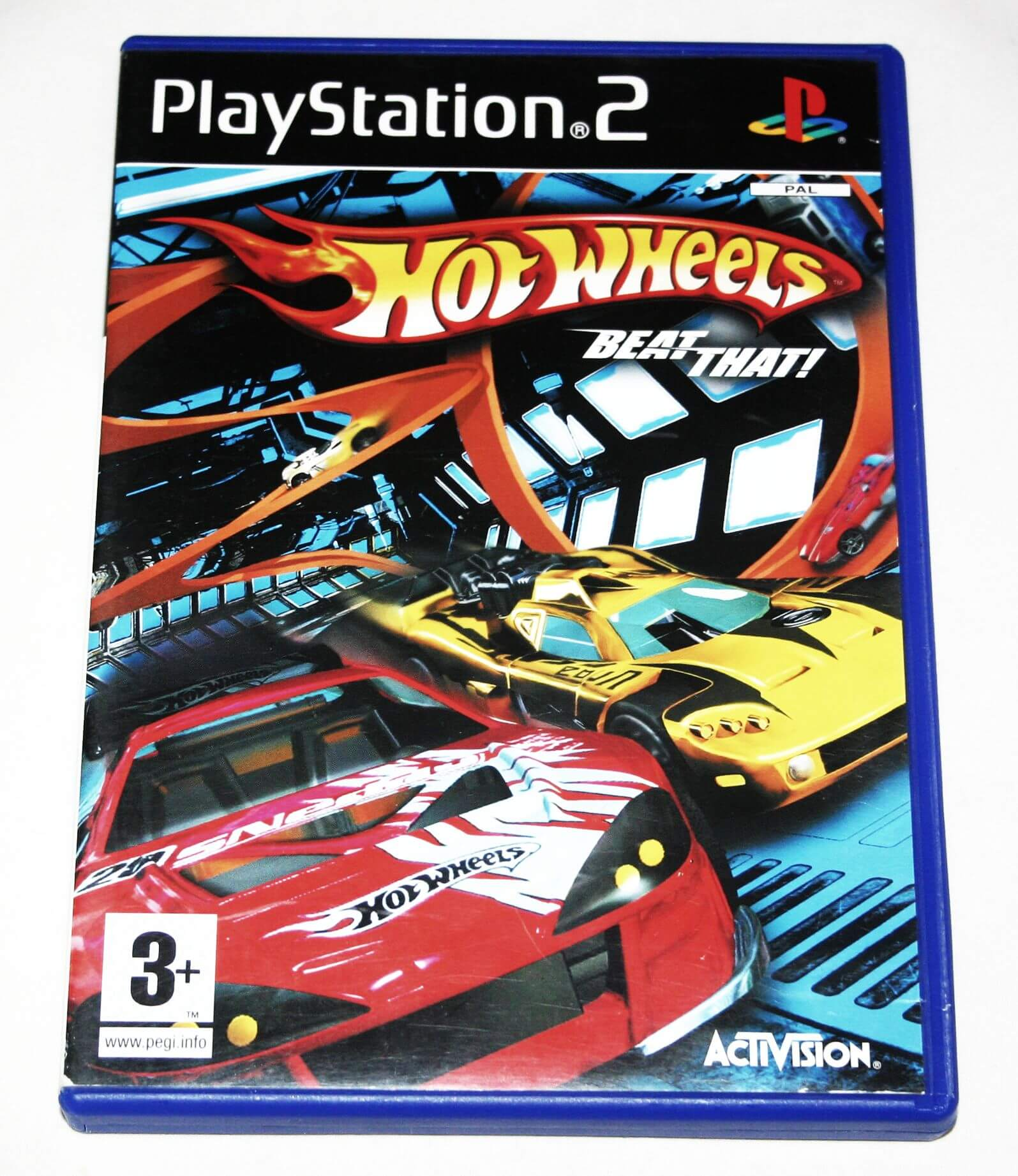 GRA HOT WHEELS BEAT THAT PS2 ENG