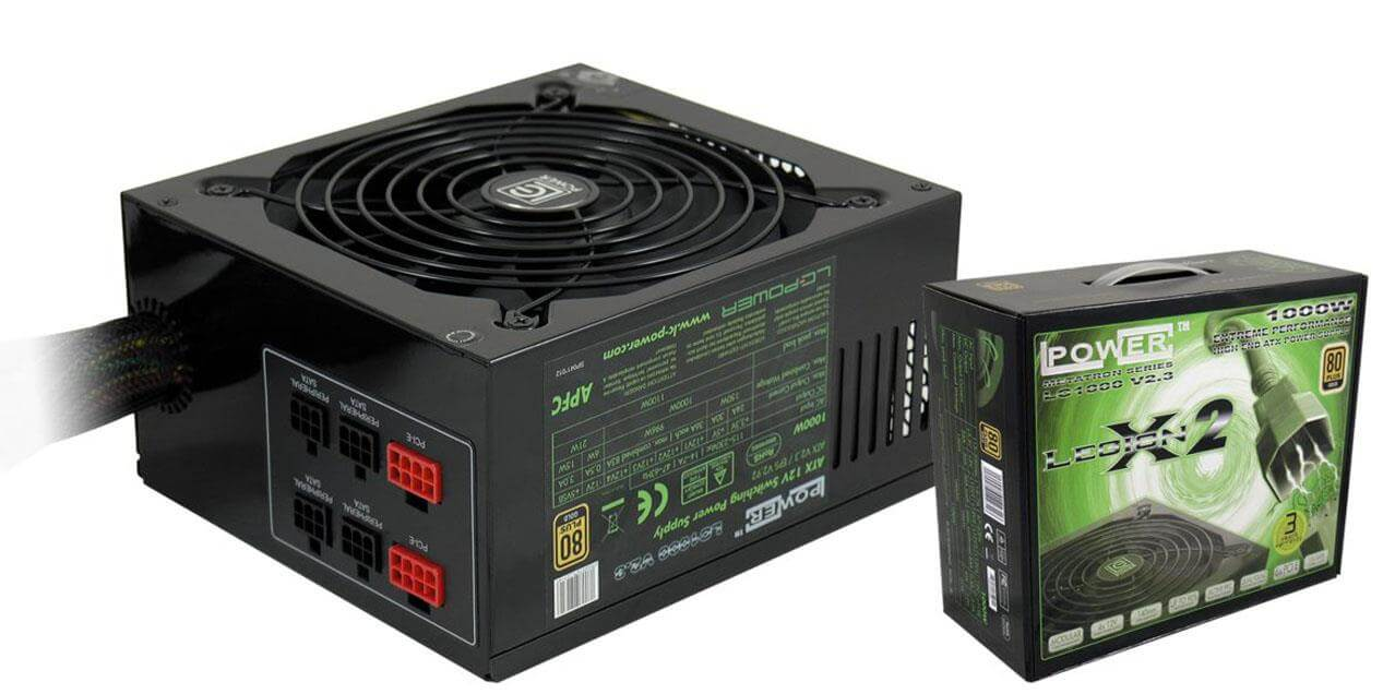 ZASILACZ LC-POWER LC1000 V2.3 LEGION X2 1000W