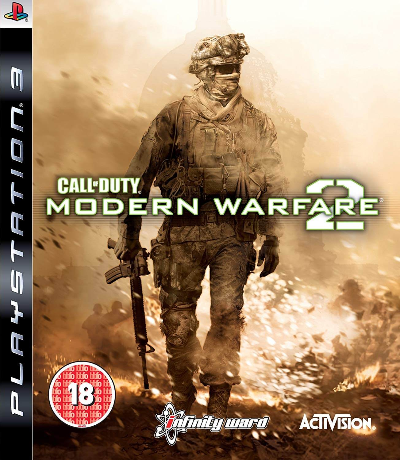 GRA CALL OF DUTY MODERN WARFARE 2 PS3 ENG