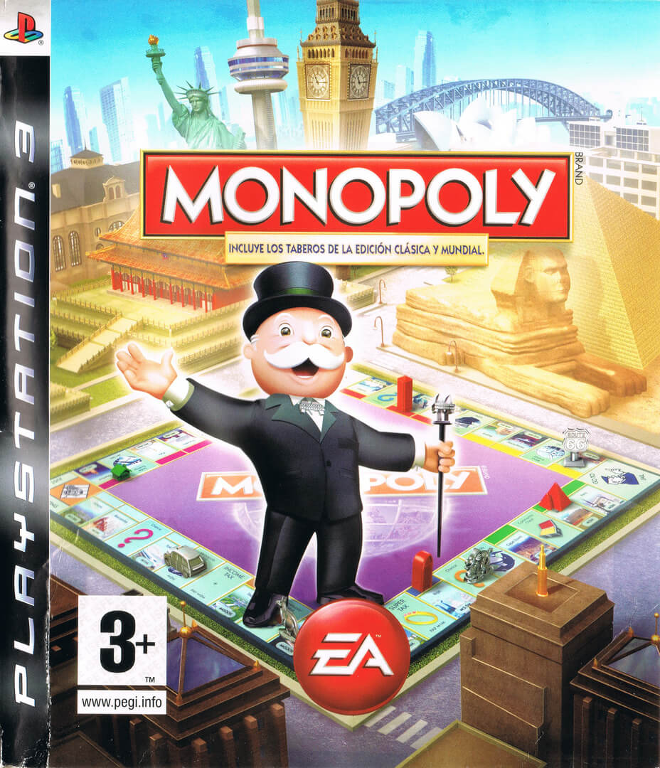 GRA MONOPOLY MIT CLASSIC & WORLD EDITION PS3 DE