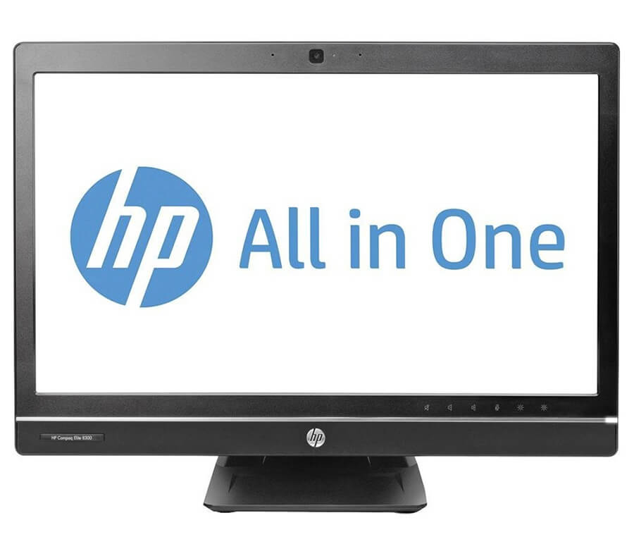 HP 8300 ELITE ALL IN ONE INTEL CORE I5-3470 QUAD 3,2 / 4096 MB DDR3 SODIMM / 120GB SSD / DVD-RW / WINDOWS 7 PRO COA / 23