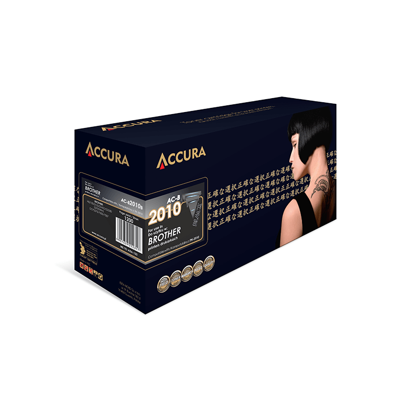 TONER ACCURA BROTHER 2010 AC-B