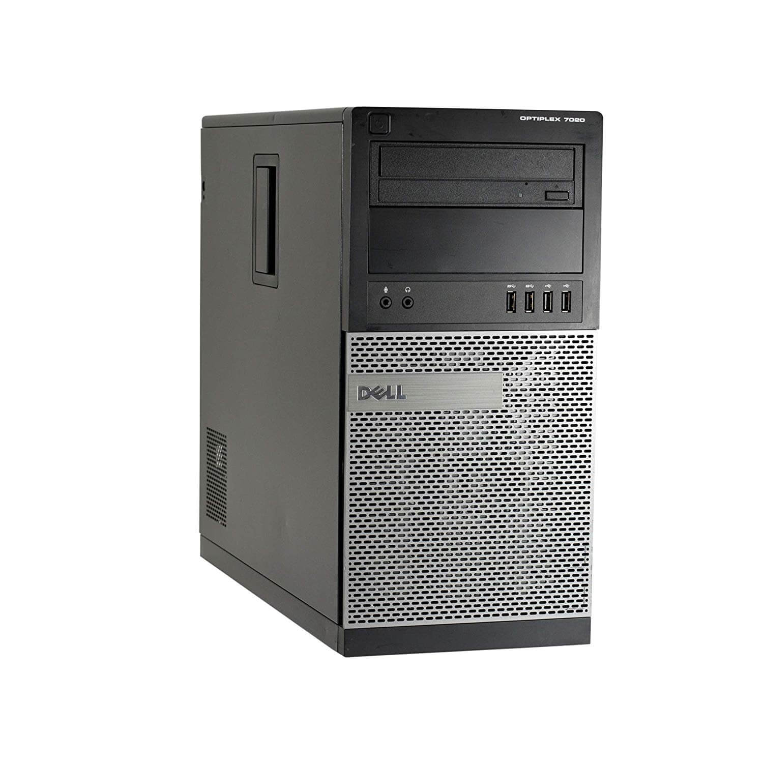DELL 7020 TOWER I5-4590 3,3 / 8192 MB DDR3 / 120 GB SSD NOWY + 500 GB / DVD / WINDOWS 10 PRO
