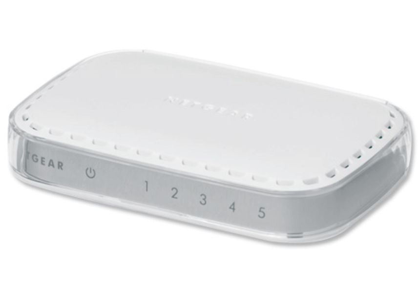 SWITCH NETGEAR FS605V3 5-PORTÓW