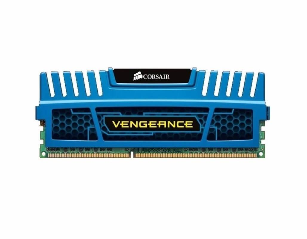 PAMIĘĆ RAM CORSAIR VENGEANCE BLUE DDR3 4GB 1600 MHz DO PC