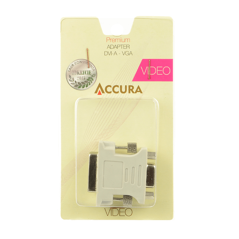 ADAPTER ACCURA ACC2133 DVI VGA NOWY