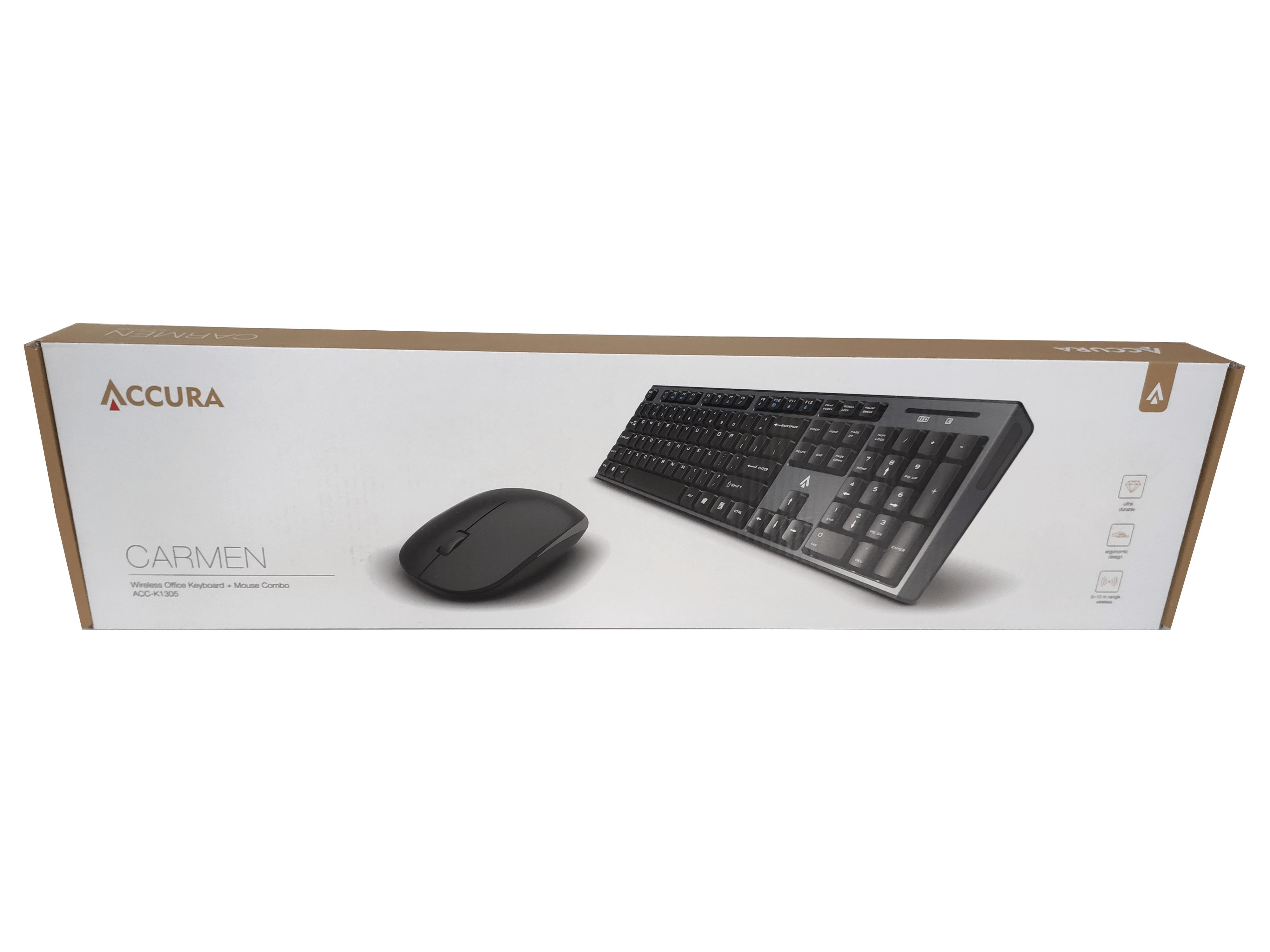 Bezprzewodowy zestaw klawiatura + mysz Logitech MK220