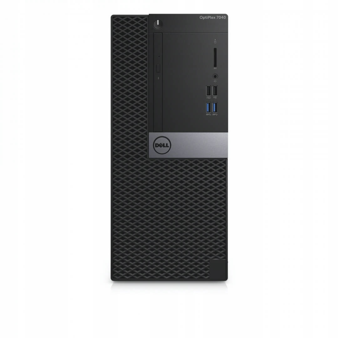 DELL 7040 MINI TOWER I7-6700 3.4 / 16384 MB DDR4 / 256 GB SSD / DVD-RW / WINDOWS 10 PRO / GIGABYTE GEFORCE GTX 1650 4GB 128 BIT NOWA