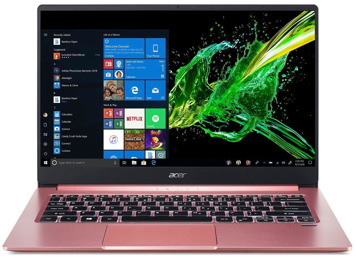 ACER SWIFT 3 / SF314-57-39B4 / I3-1005G1 1.2 / 8192MB DDR4 / 128 GB SSD / 15.6