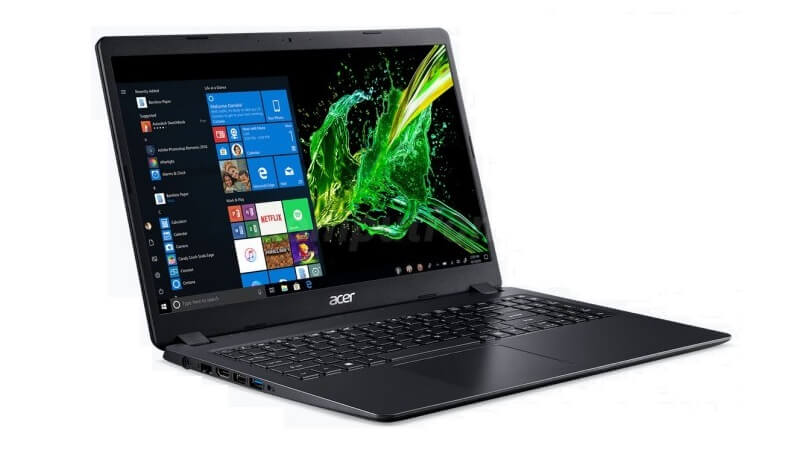 ACER ASPIRE 3 A315-42-R10M AMD ATHLON 300U 2,4 / 8192 MB DDR4 / 512 GB SSD M.2 / WINDOWS 10 HOME / 15.6