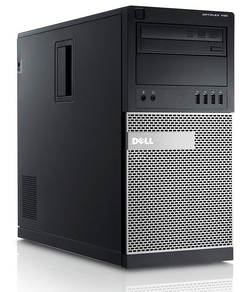 DELL 790 TOWER I5-2320 3.0 / 8192 MB DDR3 / 256 GB SSD / DVD-RW / WINDOWS 10 PRO