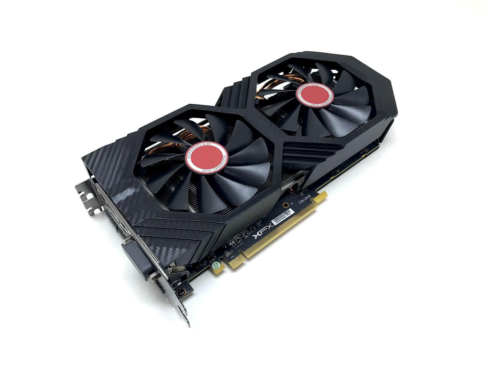 KARTA GRAFICZNA XFX RADEON RX 580 GTS 8GB GDDR5 256 BIT NOVE