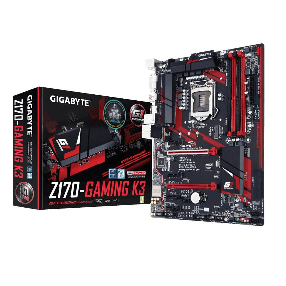 GIGABYTE Z170 - GAMING K3 LGA 1151 DDR4 OUTLET