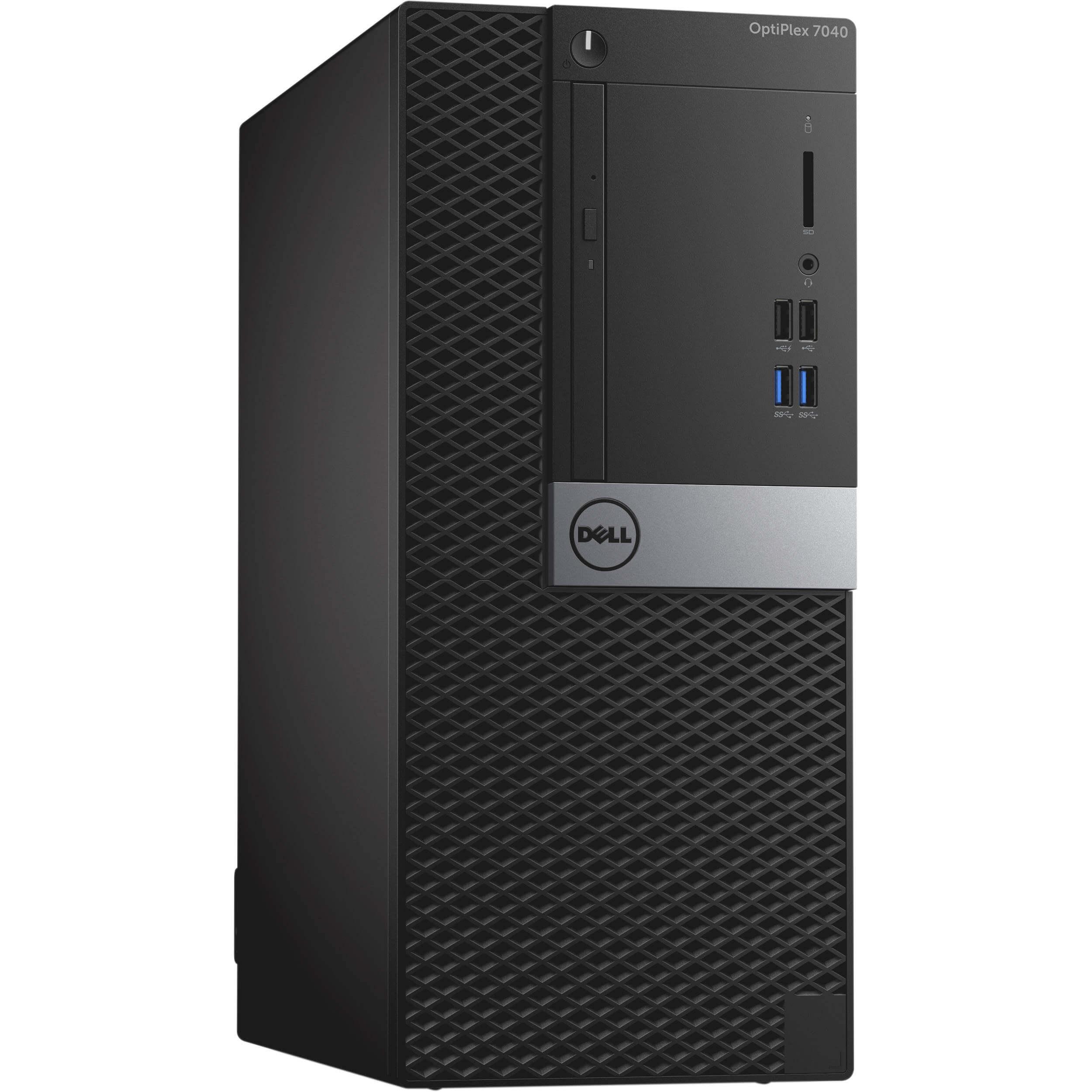 DELL 7040 MINI TOWER I5-6500 3.2 / 16384 MB DDR4 / 240 GB SSD NOVE + 500 GB / DVD-RW / WINDOWS 10 PRO / GEFORCE GTX 1050TI 4GB