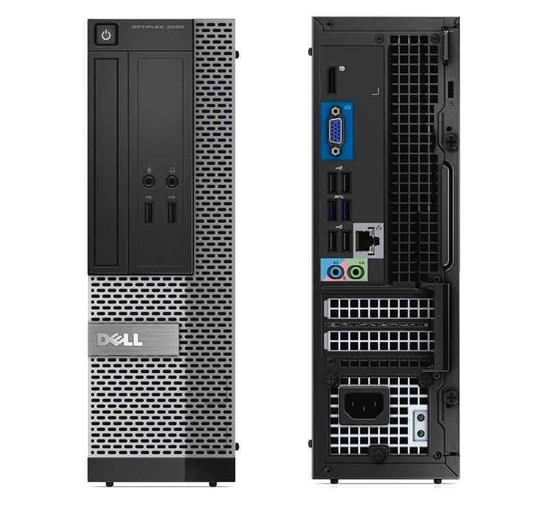 DELL 3020 SFF I5-4590 3.3 / 4096 MB DDR3 / 128 GB SSD / DVD / WINDOWS 10 PRO