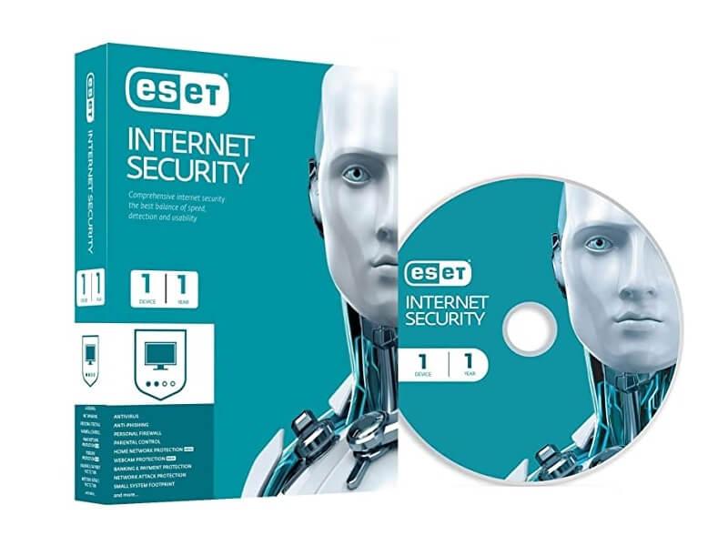 ESET INTERNET SECURITY BOX 1 UŽIVATEL - LICENCE NA ROK