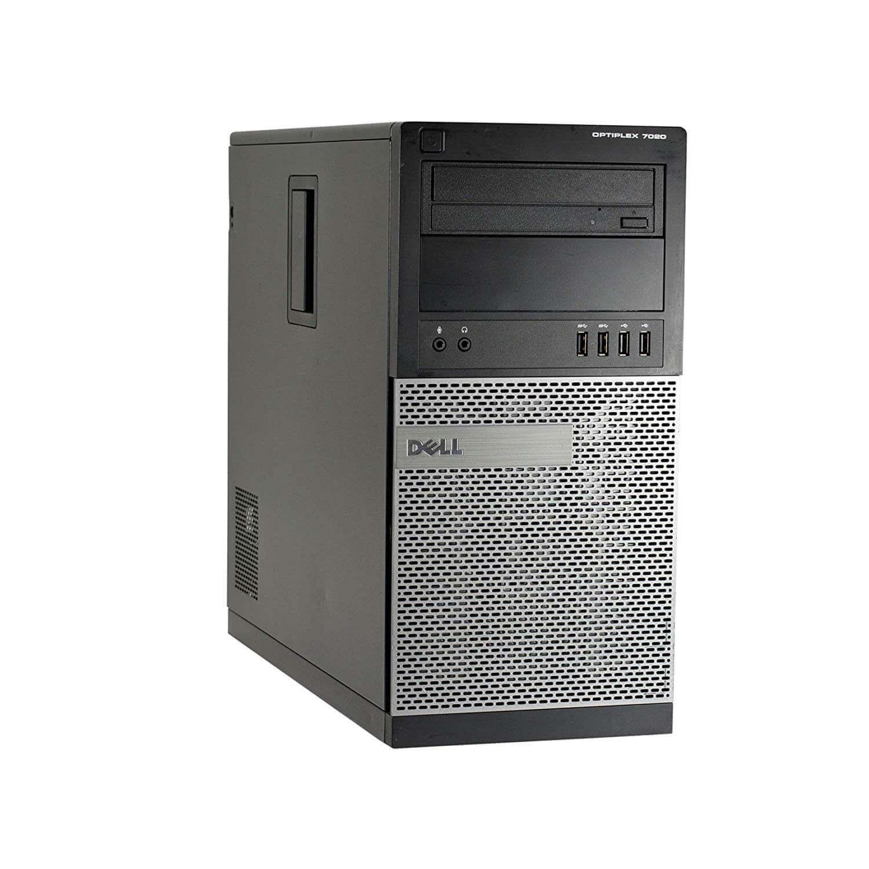 DELL 7020 TOWER I5-4460 3,2 / 8192 MB DDR3 / 256 GB SSD / DVD-RW / WINDOWS 10 PRO