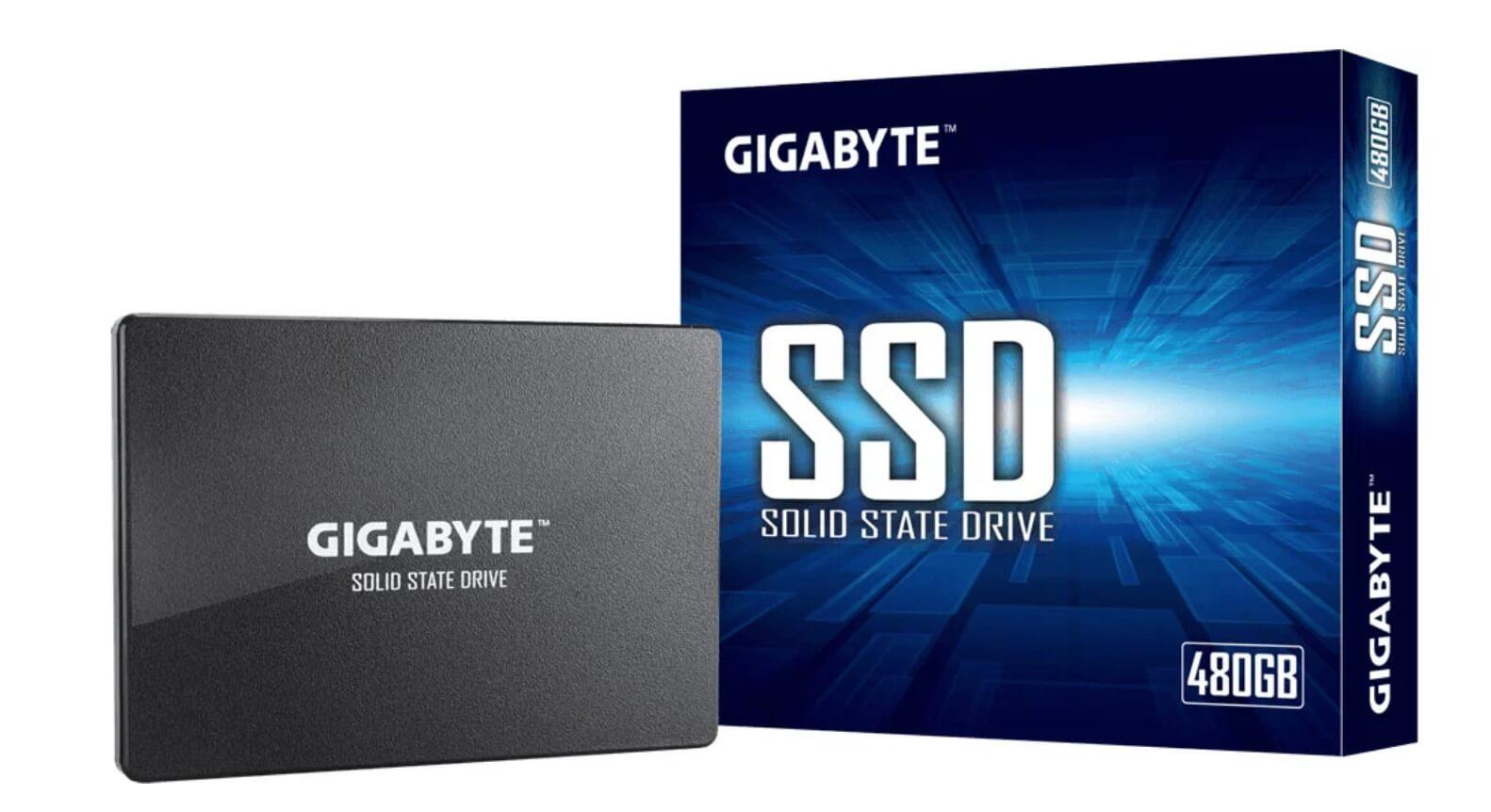 SSD GIGABYTE GP-GSTFS31480GNTD 2,5