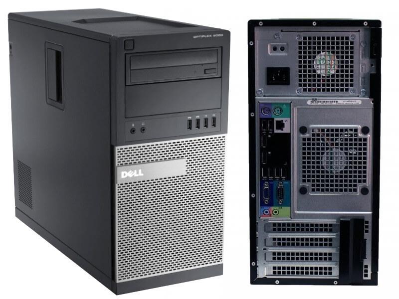 DELL 9020 TOWER I5-4590 3.3 / 16384 MB DDR3 / 512 GB SSD NOVE / DVD-RW / WINDOWS 10 PRO