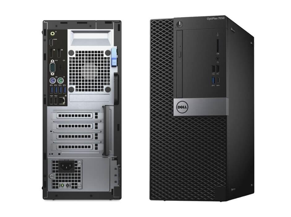 DELL 7050 MINI TOWER I5-7500 3.4 / 16384 MB DDR4 / 512 GB NOVY SSD / DVD-RW / WINDOWS 10 PRO
