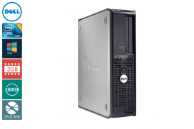 DELL 760 DESKTOP C2D 3,0 E8400 / 2048 MB / 160 GB / DVD-RW WIN VISTA BUSI COA