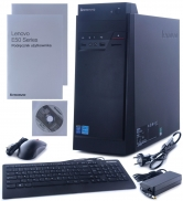 LENOVO THINKCENTRE TOWER PENTIUM QUAD 2,41 J2900 / 4096 MB DDR3 SODIMM / 1 TB / DVD-RW / WINDOWS 8.1 BING / KLAWIATURA / MYSZ / NOWY