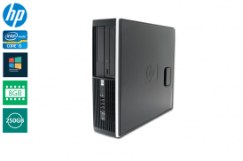 HP 8200 ELITE SFF I5-2500 3.3 / 8192 MB DDR3 / 250 GB / DVD-RW WIN 7 PRO COA