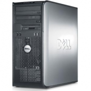 DELL 760 TOWER C2D 2,8 E7400 / 2048 MB / 80 GB / COMBO SYSTEM WINDOWS 10 REFURBISHED PL