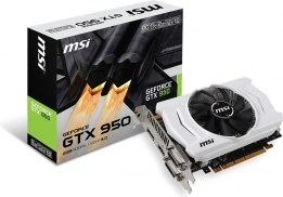 MSI GEFORCE GTX950 OC V2 PCI-E 3.0 2GB GDDR5 128BIT NOWA