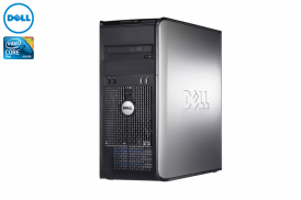 DELL 755 TOWER PENTIUM DUAL CORE 2,4 E2220 / 2048 MB / 80 GB / WIN XP HOME COA