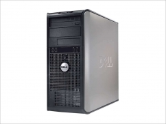 DELL 745 TOWER PENTIUM DUAL CORE 1,8 E2160 / 1024 MB / 160 GB / DVD-RW / WIN XP PRO COA