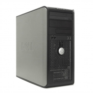 DELL 755 TOWER C2D 2,33 E6550 / 2048 MB / 80 GB / DVD-RW SYSTEM WINDOWS 10 REFURBISHED PL