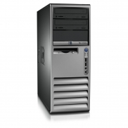 HP DC7700 TOWER C2D 1,86 E6300 / 2048 MB / 80 GB / DVD-RW SYSTEM WINDOWS 10 REFURBISHED PL