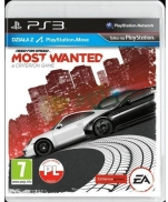 GRA NEED FOR SPEED MOST WANTED PS3 PL