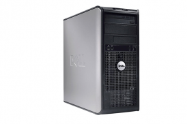 DELL 755 TOWER PENTIUM DUAL CORE 2,4 E2220 / 2048 MB / 80 GB / DVD-RW WIN XP PRO COA