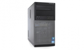 DELL 7010 TOWER I5-3570 3,4 / 8192 MB DDR3 / 500 GB / DVD-RW WIN 7 PRO COA