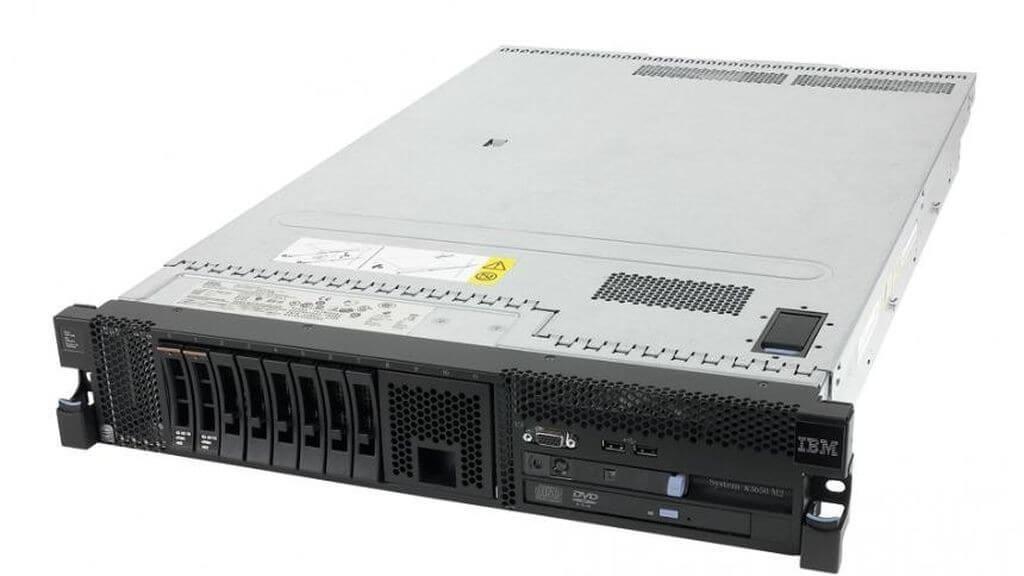 IBM SYSTEM X3650 M2 2 x XEON QUADCORE E5504 2,0 / 64 GB DDR3 ECC / 136 GB SAS 2,5