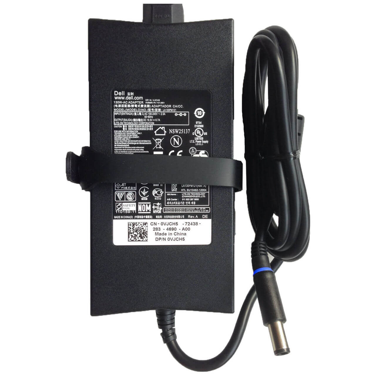 AC ADAPTER DELL 130W 19.5V 6.7A