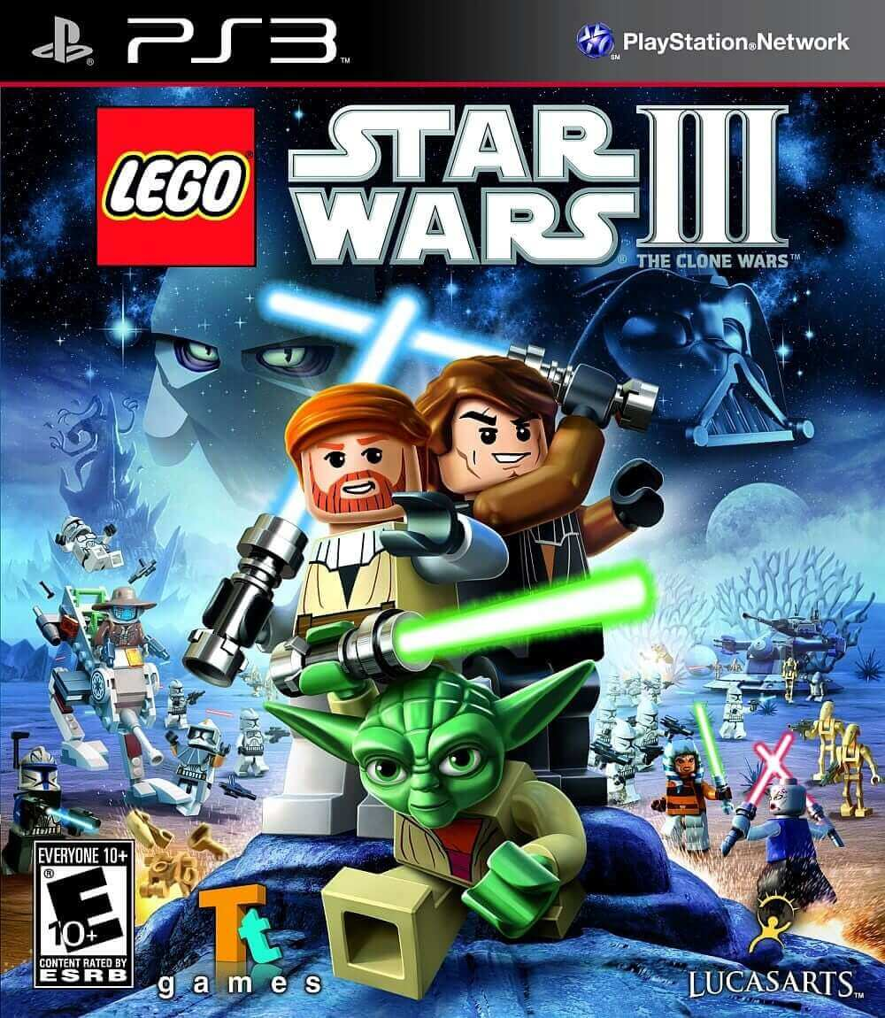 GRA LEGO STAR WARS 3 THE CLONE WARS PS3 ENG