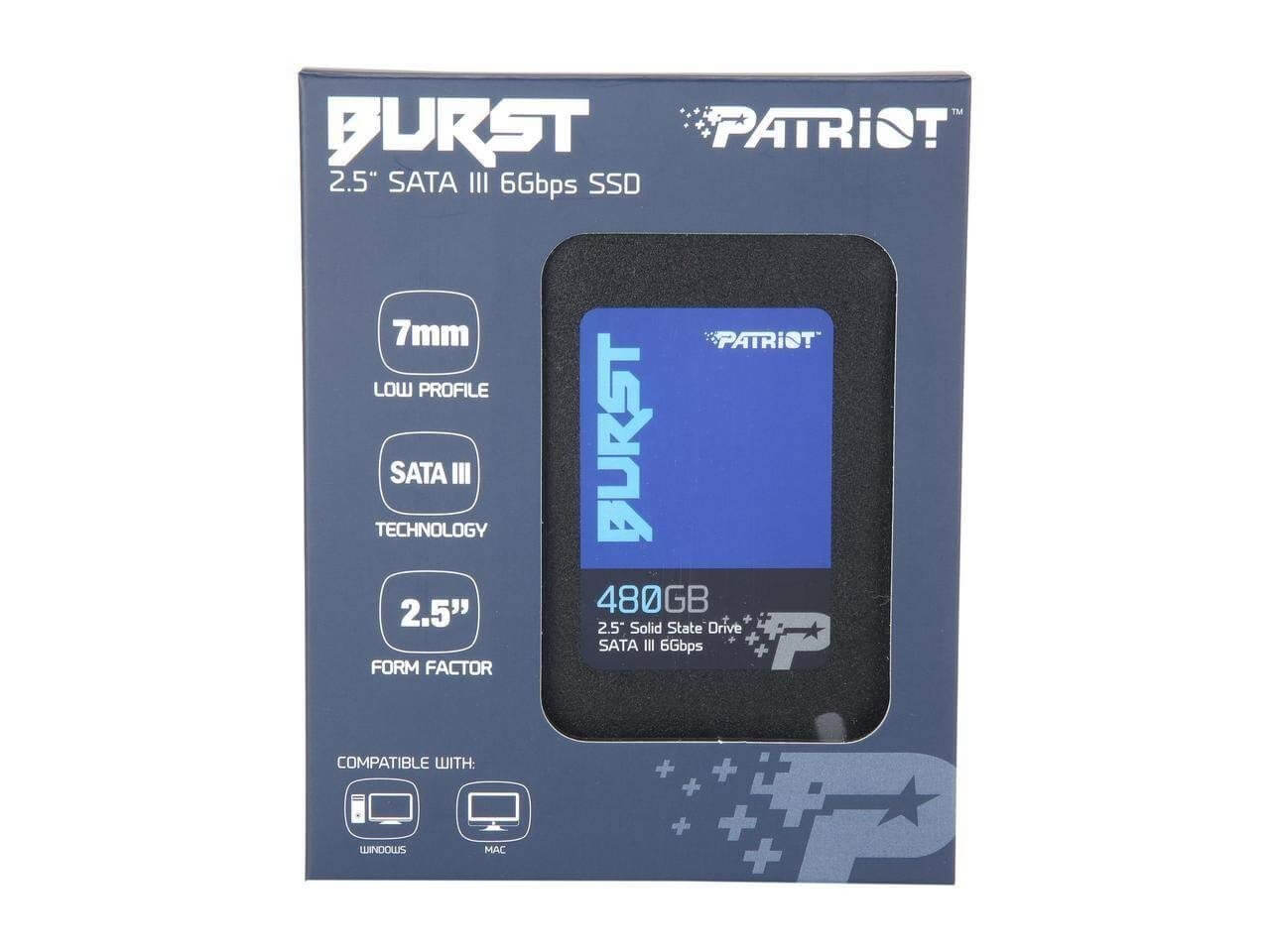 DYSK SSD PATRIOT BURST 2,5