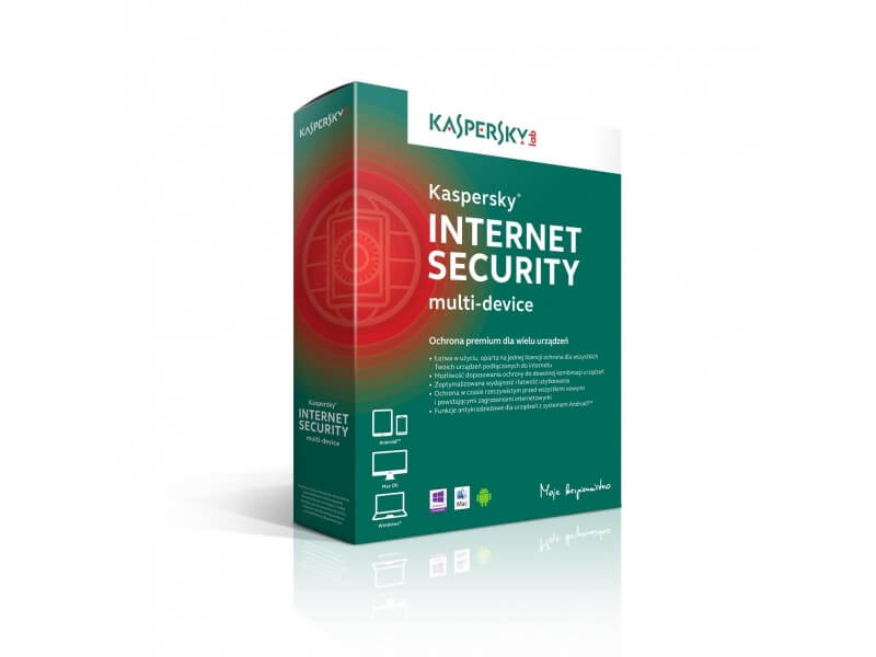 Kaspersky Internet Security multi-device BOX 2 - Desktop - licencja na rok
