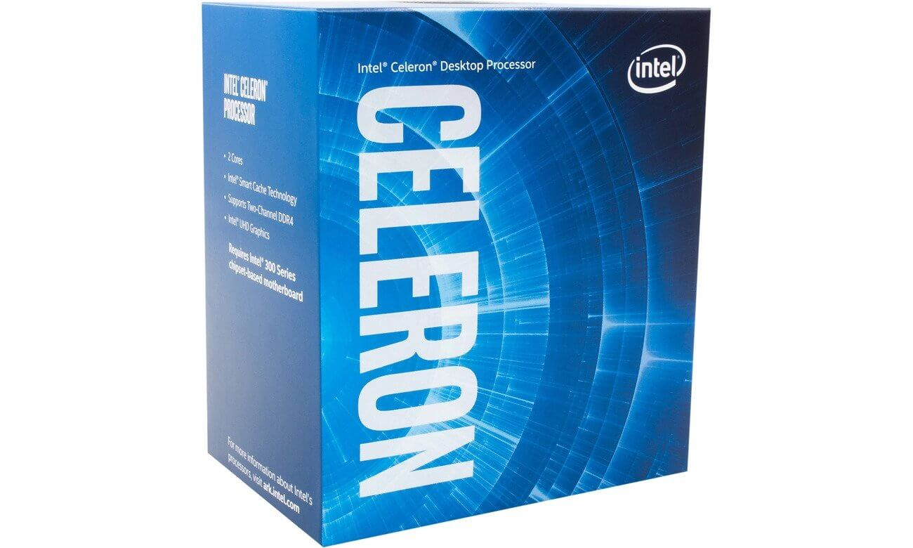 PROCESOR INTEL CELERON G3930 2.9 2MB CACHE LGA1151 BOX OUTLET