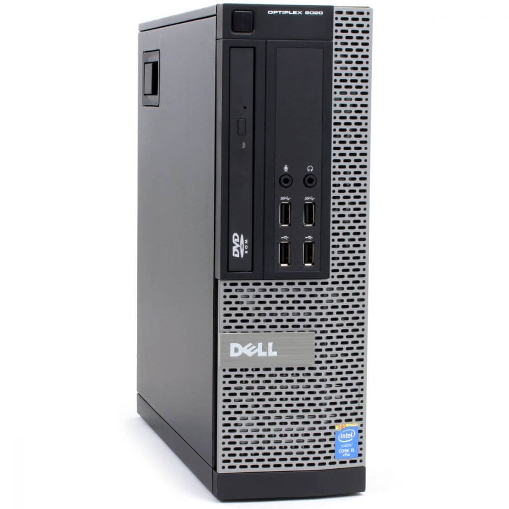 DELL 9020 SFF I5-4590 3.3 / 4096 MB DDR3 / 120 GB SSD NOWY  / DVD-RW / WINDOWS 10 PRO