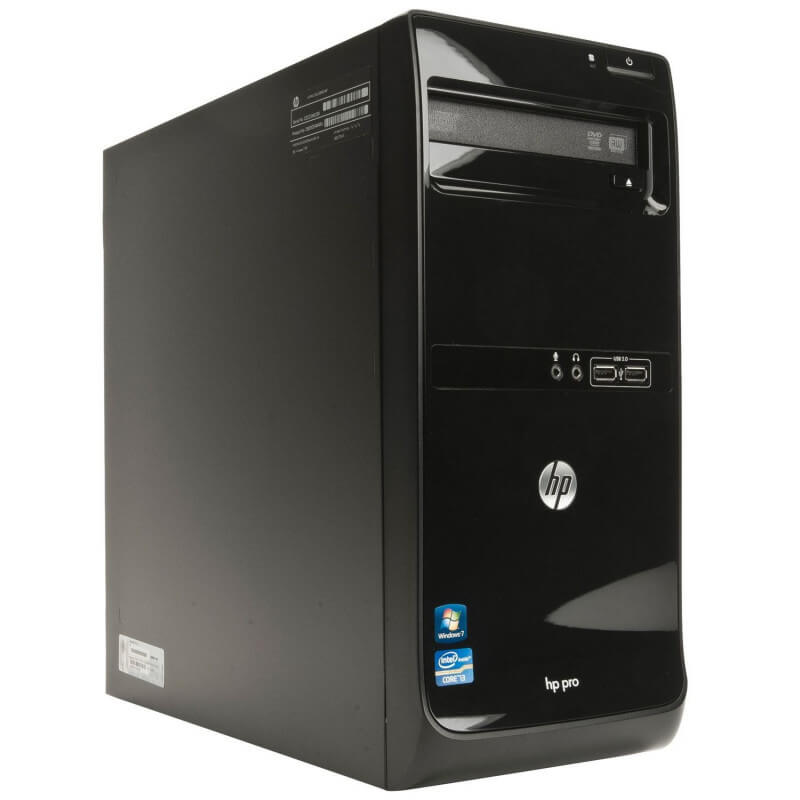 HP PRO 3405 TOWER AMD E2-3200 2.4 / 8192 MB DDR3 / 500 GB / DVD-RW / WINDOWS 10 PRO