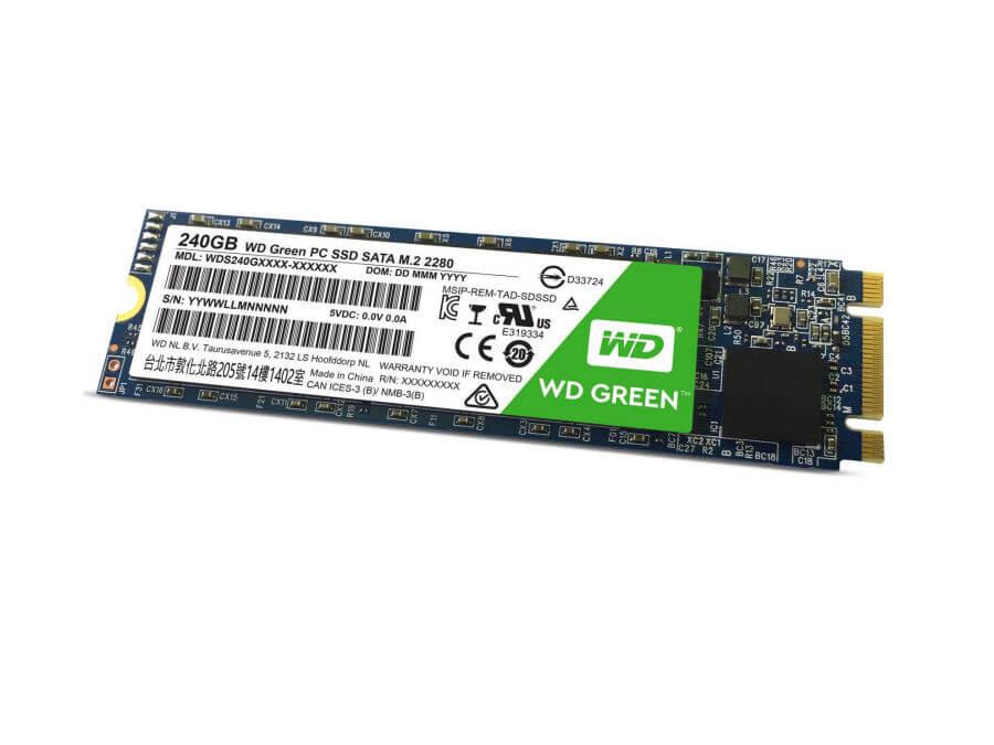 SSD WD 2280 240GB M.2 NOVE