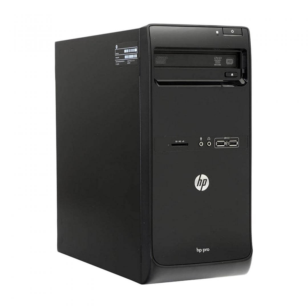 HP PRO 3500 TOWER I3-3220 3.3 / 4096 MB DDR3 / 500 GB / DVD-RW / WINDOWS 10 PRO