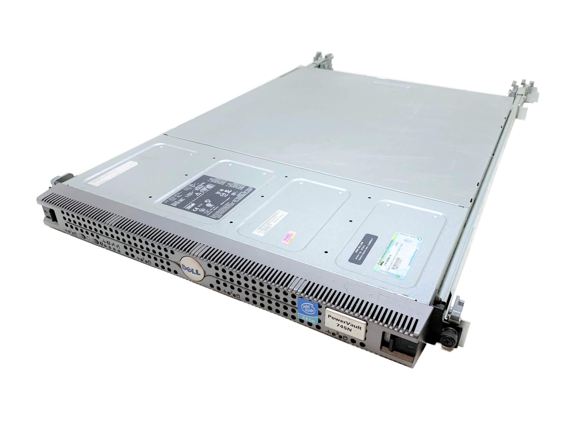 DELL POWERVAULT 745N PENTIUM 4 2,8 / 1 GB DDR1 ECC / WINDOWS 2003 STORAGE RAID COA / 2U
